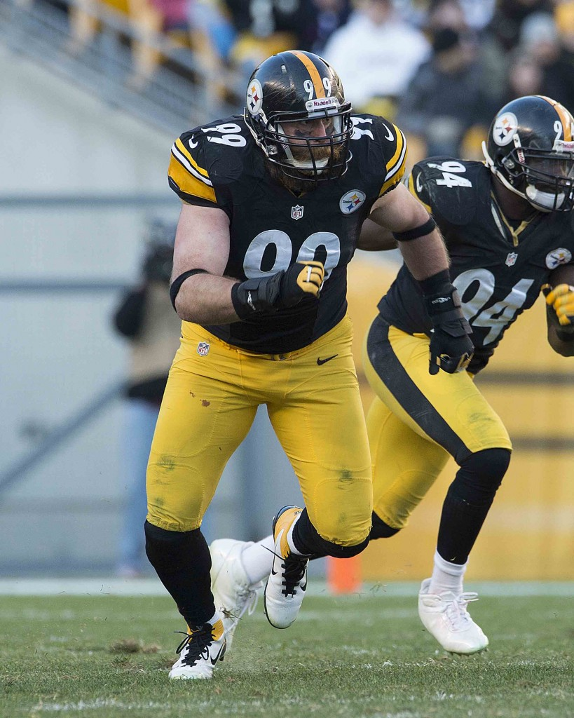 All-Pro lineman Brett Keisel has played 12 years with the Steelers and lives in Pennsylvania, but loves returning to Wyoming where he grew up. (Copyrighted Photo/Credit: Pittsburgh Steelers, Karl-Roser)