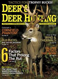 November 2009 Issue of Deer & Deer Hunting
