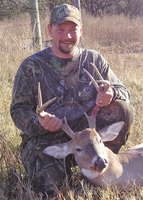 Tony Gonzalez, Oklahoma Web Pro Staff for Deer & Deer Hunting