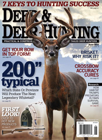 Click here to subscribe to Deer & Deer Hunting magazine