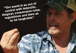 Ted Nugent talks about ethics