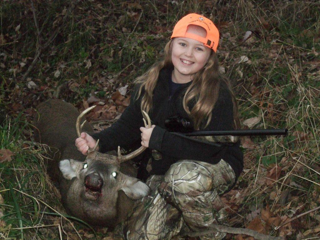 youth whitetail deer hunting