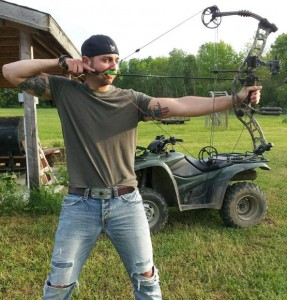 Erich Smelka is a lifelong hunter. His favorite bow is a Hoyt Turbo Hawk.