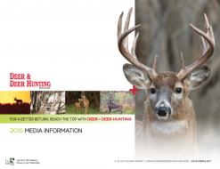 2016 Deer and Deer Hunting Media Kit