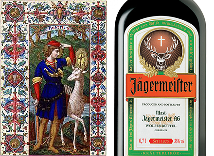 The meaning behind the Jägermeister label is a mystery to many—a glowing Christian cross between the antlers of a deer and a verse from a particular poem, albeit related to hunting.