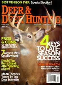 Ethical deer hunters read Deer & Deer Hunting!