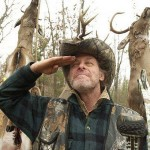 Ted salutes all the Backstrap BloodBrothers out in the field!