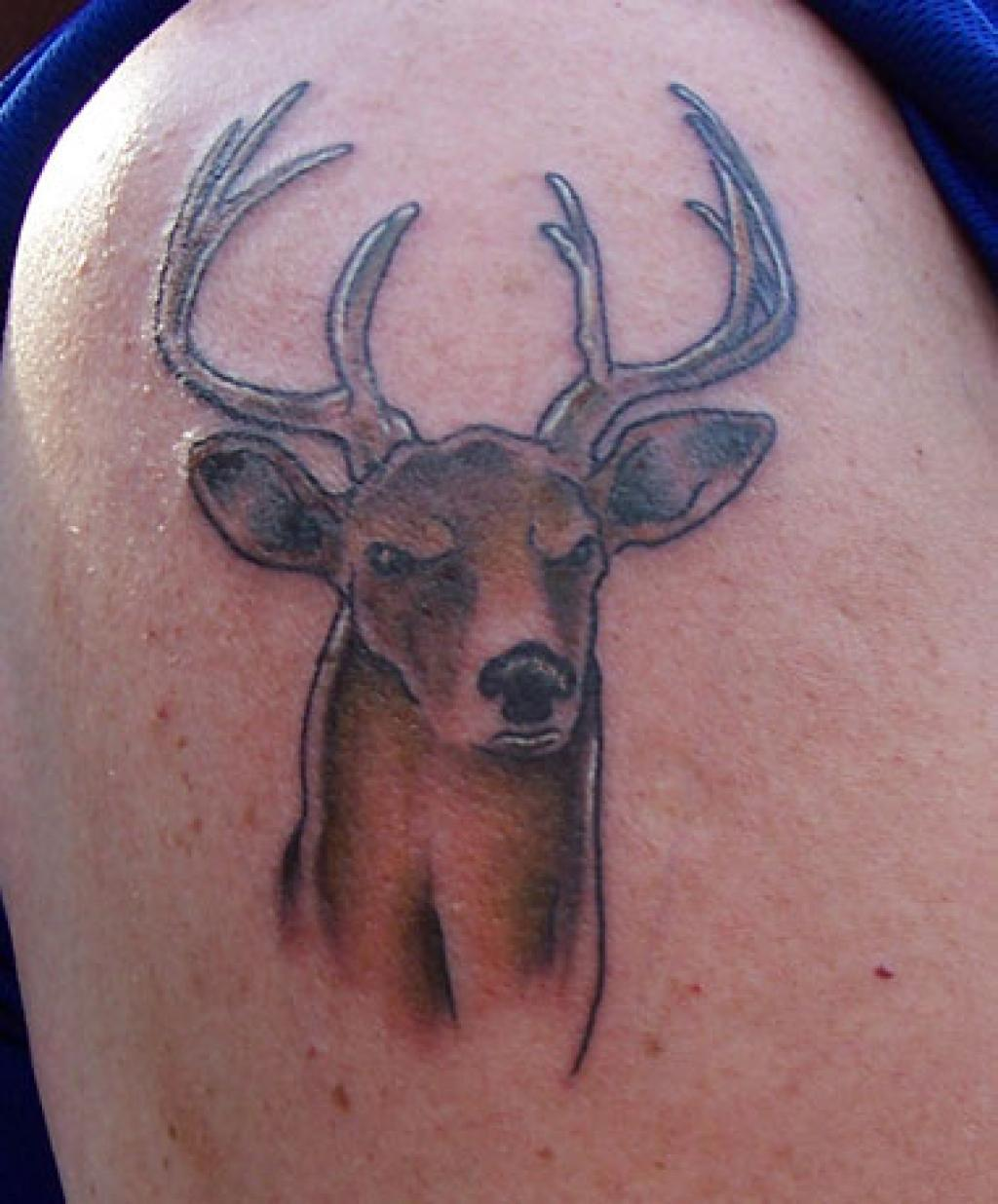 Check Out These Deer Tattoos