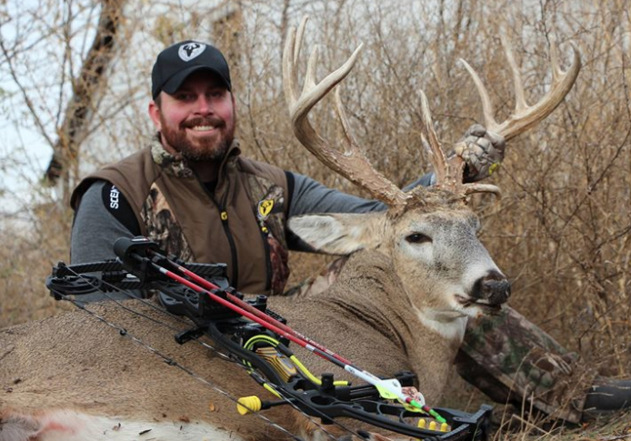 Aaron Zimmerman dropped this beauty in Kansas. Fine buck!