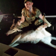 Adrianna Cockerill of Eastover, S.C., with her 4-point velvet doe. (Photo: SouthCarolinaSportsman.com/Adrianna Cockerill)