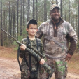 Alex Collins and Sheriff Alex Underwood
