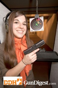 Alicia Capetillo overcame her initial nerves, which many new shooters have, and enjoyed the session.