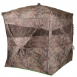 Ameristep Bone Collector Man Cave ground blind has an astounding amount of space.