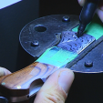 Custom knife makers will show their craftwork at the 2015 BLADE Show.