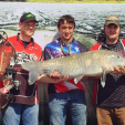 Huge fish and bigger payouts for 86 teams coming from across the country highlighted the 16th annual Muzzy Classic bowfishing championship on Lake Guntersville in north Alabama. The first major championship event of the bowfishing season attracted teams from as far as Wisconsin and the southwest.