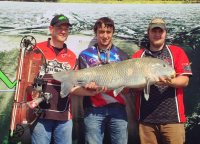 Huge Fish Arrowed in Season's First Major Bowfishing Tournament