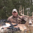 Chris Hunter with NAP loves bowhunting for mature bucks and other critters!