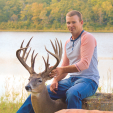Kevin Krebs with his second chance buck, a beauty!