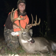ReAnn Chatham with her 149 inch Mississippi buck.