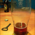 A glass can give beer drinkers a fuller experience by providing the aroma of the ingredients. (Photo: Wikipedia)
