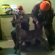 Ben Ready Tallassee 25inch buck top of back 44inches nosetail