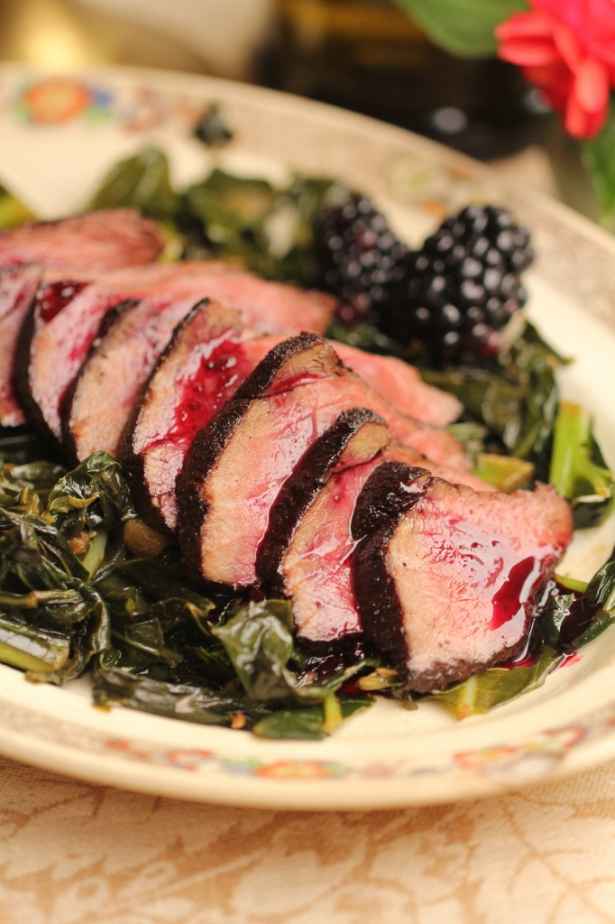 Blackberry Venison