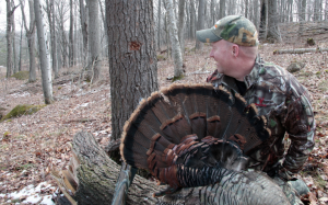 Yes, that's what a Mad Max turkey choke will do to a full load of #5s ... at 3 yards. (photo by Cory Johnson)