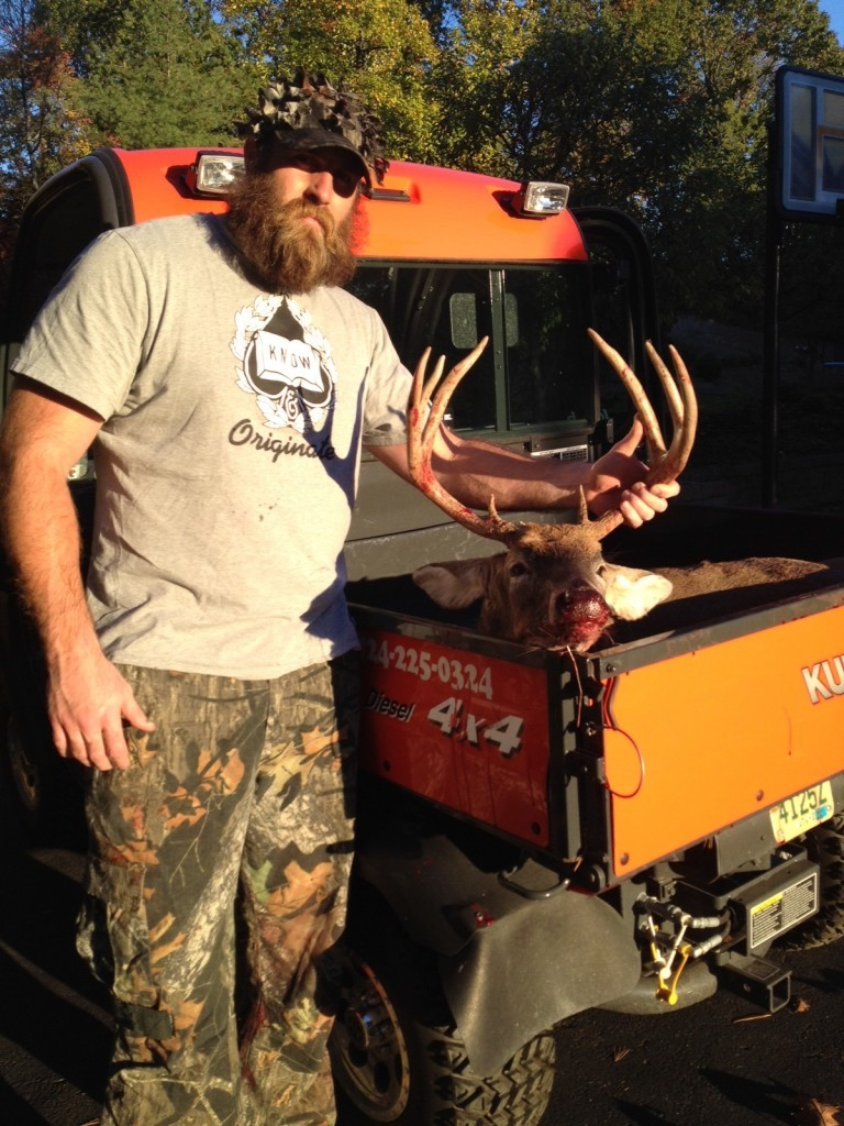 Pittsburgh Steelers All-Pro lineman Brett Keisel loves bowhunting deer and elk with his Bowtech Destroyer, although the NFL season cuts into much of the hunting seasons. (Photo: Brett Keisel)