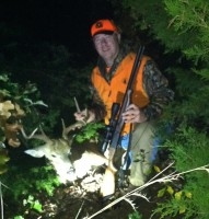 Last Evening Magic With Oklahoma Buck, New Muzzleloader