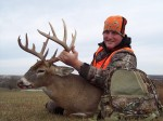 Josh with his 2011 Missouri rifle buck.