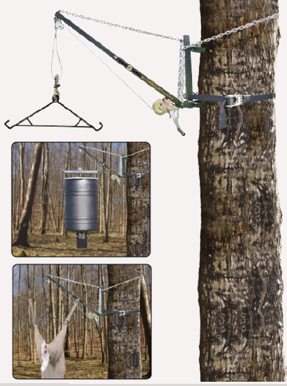 Hang all of your deer the easy way with the new Bucksnort hoist.