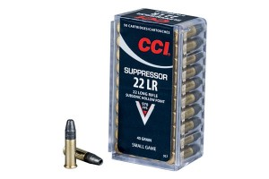 CCI Suppressor 22 LR
