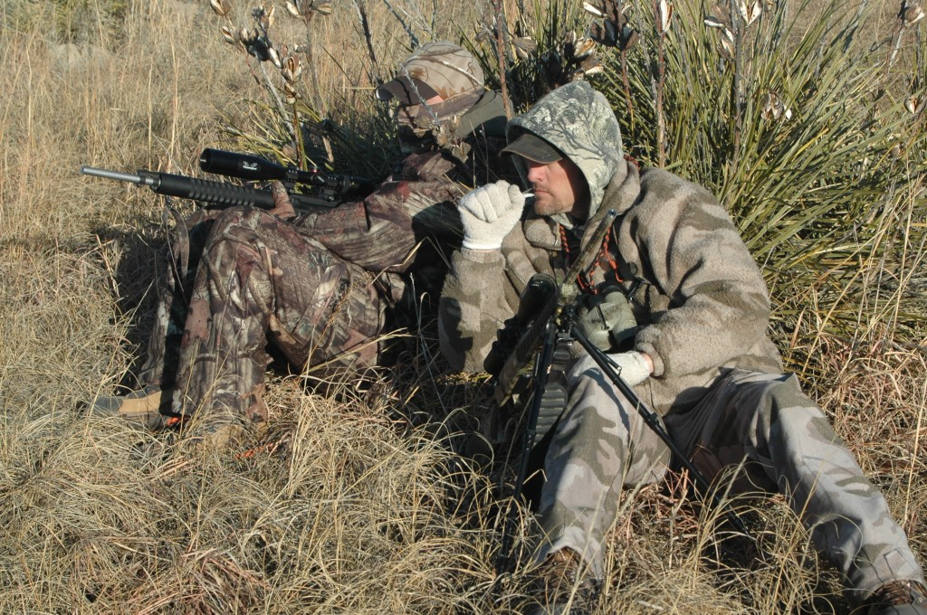 Teaming up with a partner is a great way to enjoy a hunt and also have an extra set of eyes watching for action.