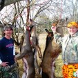 Cam and Ron after a successful hunt enjoying the task with a smile.
