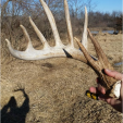 Cameron Coble on Twitter with an Iowa monster shed.