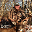 Chad Scyphers of West Virginia hunted this big 12-point for years before finally getting a shot, and his hard work paid off. The buck green scored 196 5/8 with an estimated 10 points of deductions, which if accurate still would put the buck about 10 points better than the state record.