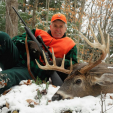 Longtime DDH contributor and diehard hunter Charles Alsheimer with a super New York 10-point buck. Be sure to check Alsheimer's rut forecast in the 2016 DDH Daily Calendar at www.ShopDeerHunting.com.