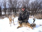 In exteme conditions, plan accordingly for your coyote hunts to be successful.