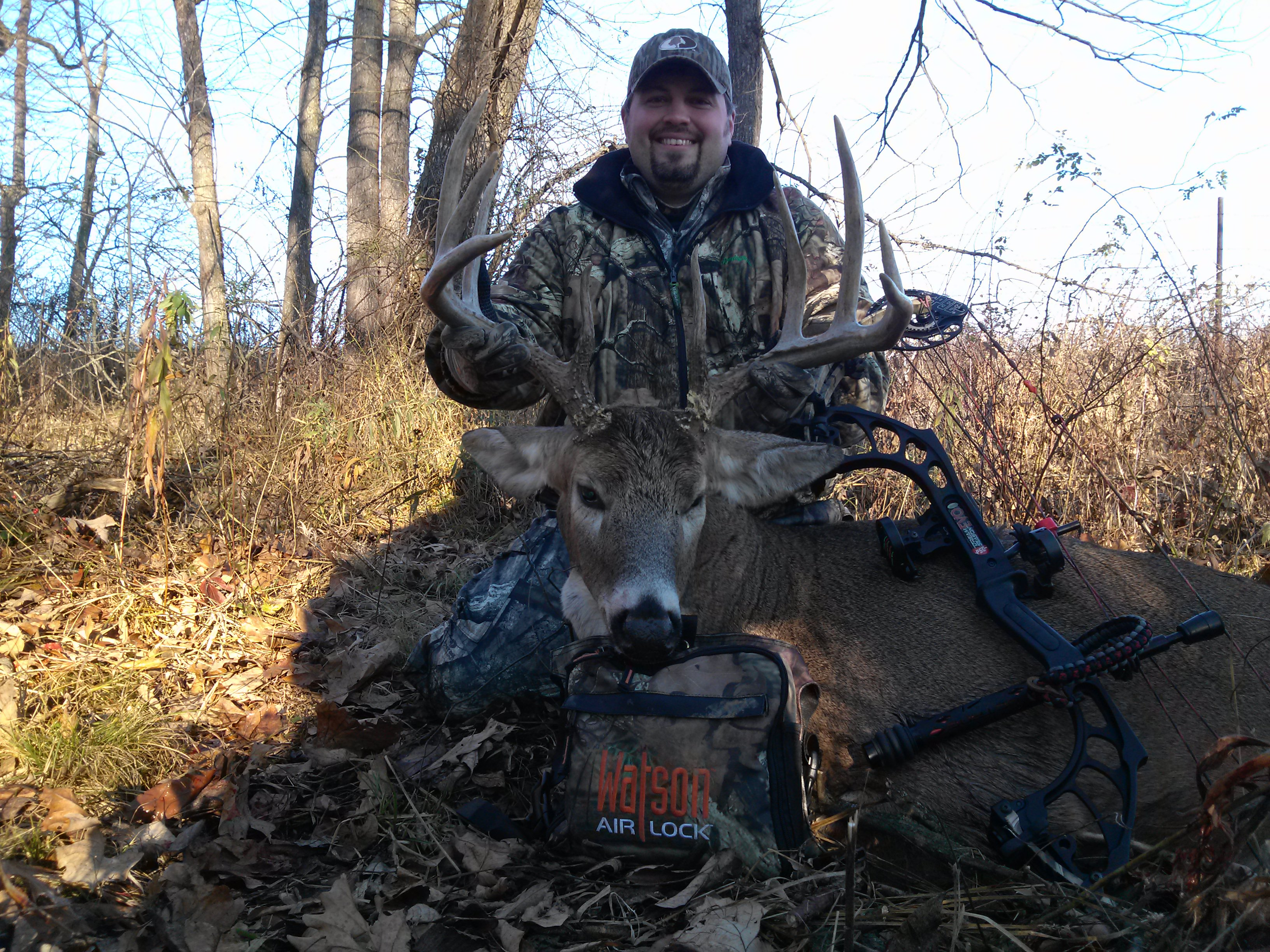 Curtis Goettsch with his dandy Iowa buck!