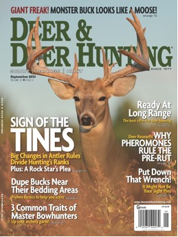 The September 2013 issue will hit newsstands Aug. 6.