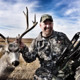 DDH Editor-in-Chief Dan Schmidt scored in Nebraska with the Horton crossbow on this great buck.