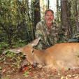 Some of the author's favorite hunts have been for does, which provide great challenges and tasty meals.