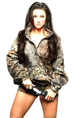 Nicole's modeling jobs have included some national spots for manufacturers in the shooting, hunting and outdoor trade industry.