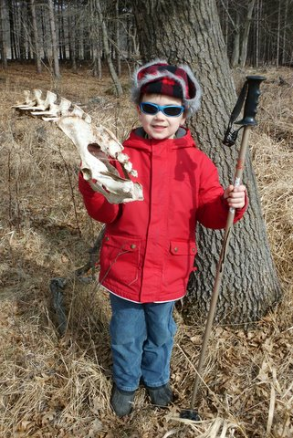 Shed hunting is fun for kids