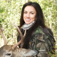 Nicole McClain on Deer & Deer Hunting Tags a Wisconsin Buck in Hunting Season