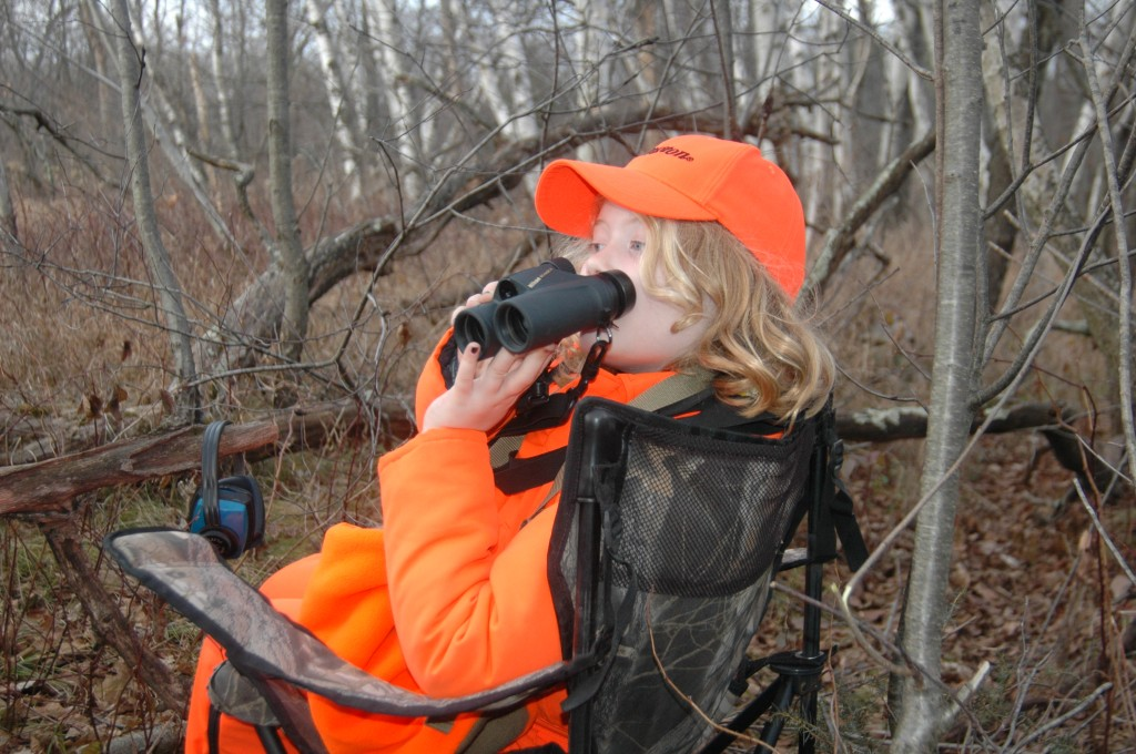 If you want to get your child addicted to hunting and the outdoors, take the emphasis off of success (shooting a deer) and place it on just enjoying the surroundings.