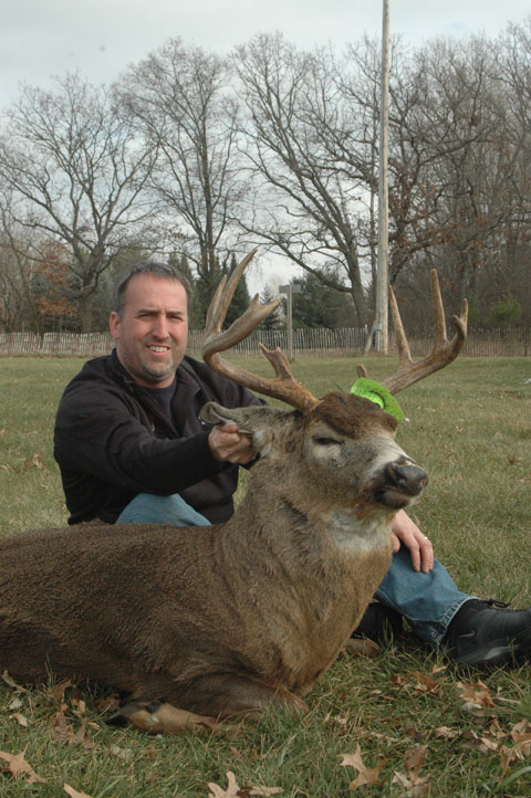 Chris Adamski's big buck photo