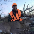 DDH Editor-in-Chief Dan Schmidt tagged out in Kansas on this fine buck, which had a club foot.