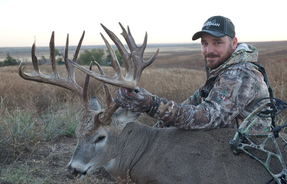 Daniel McVay killed this gorgeous buck in Oklahoma and it scored 201 4/8. Congrats!