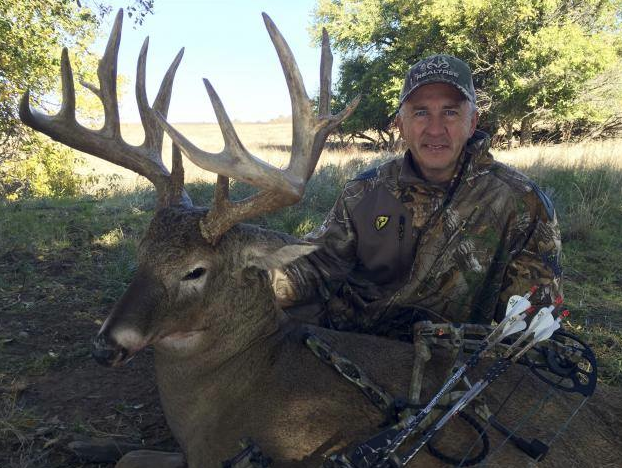 David Blanton of Realtree Outdoors killed his personal best buck, a 15-pointer scoring 188 2/8.